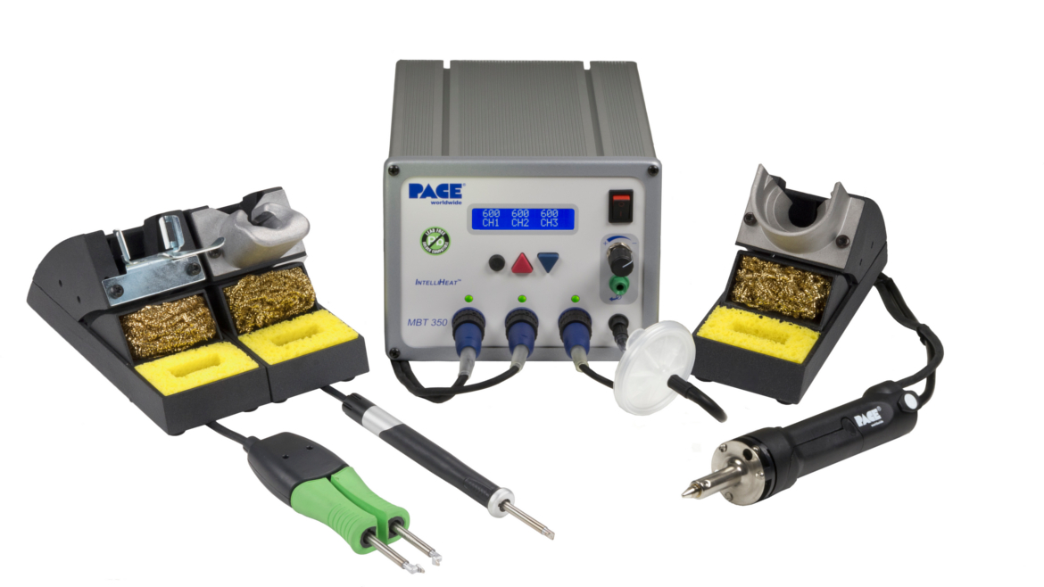 MBT 350 Multi-Channel Solder, Desolder & Rework System with TD-100A, SX-100 & MT-100