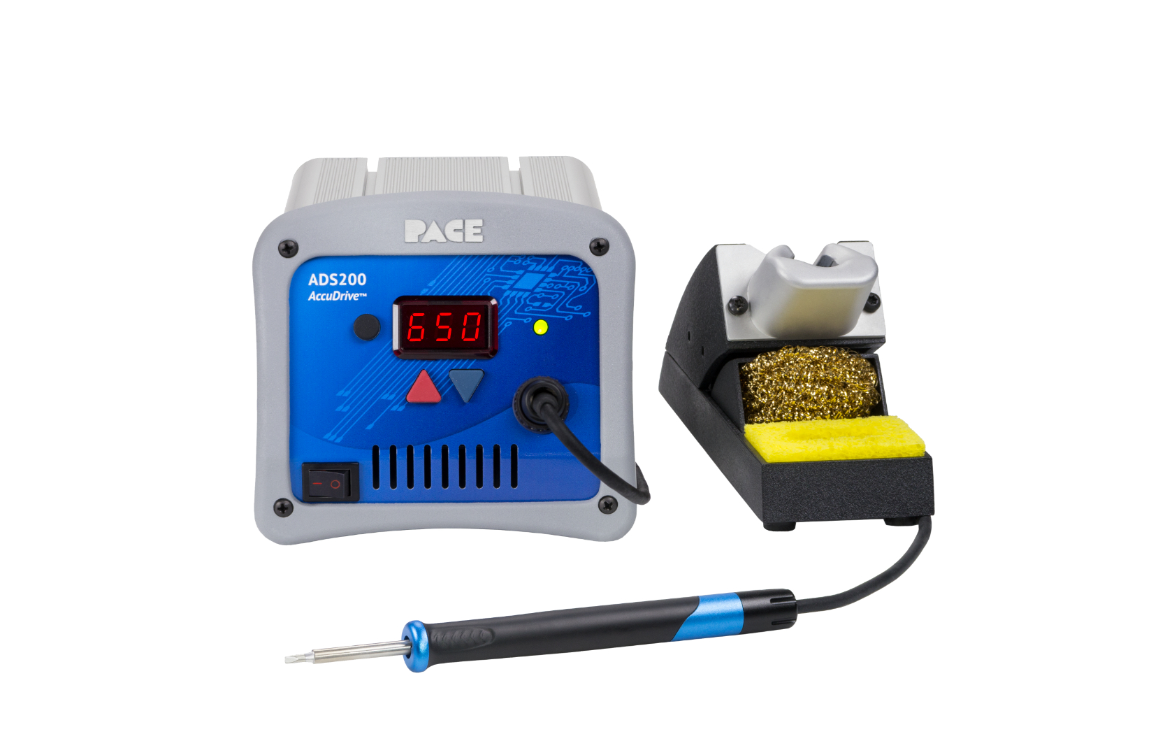 ADS200 AccuDrive® Production Soldering Station with TD-200 Tip-Heater Cartridge Iron
