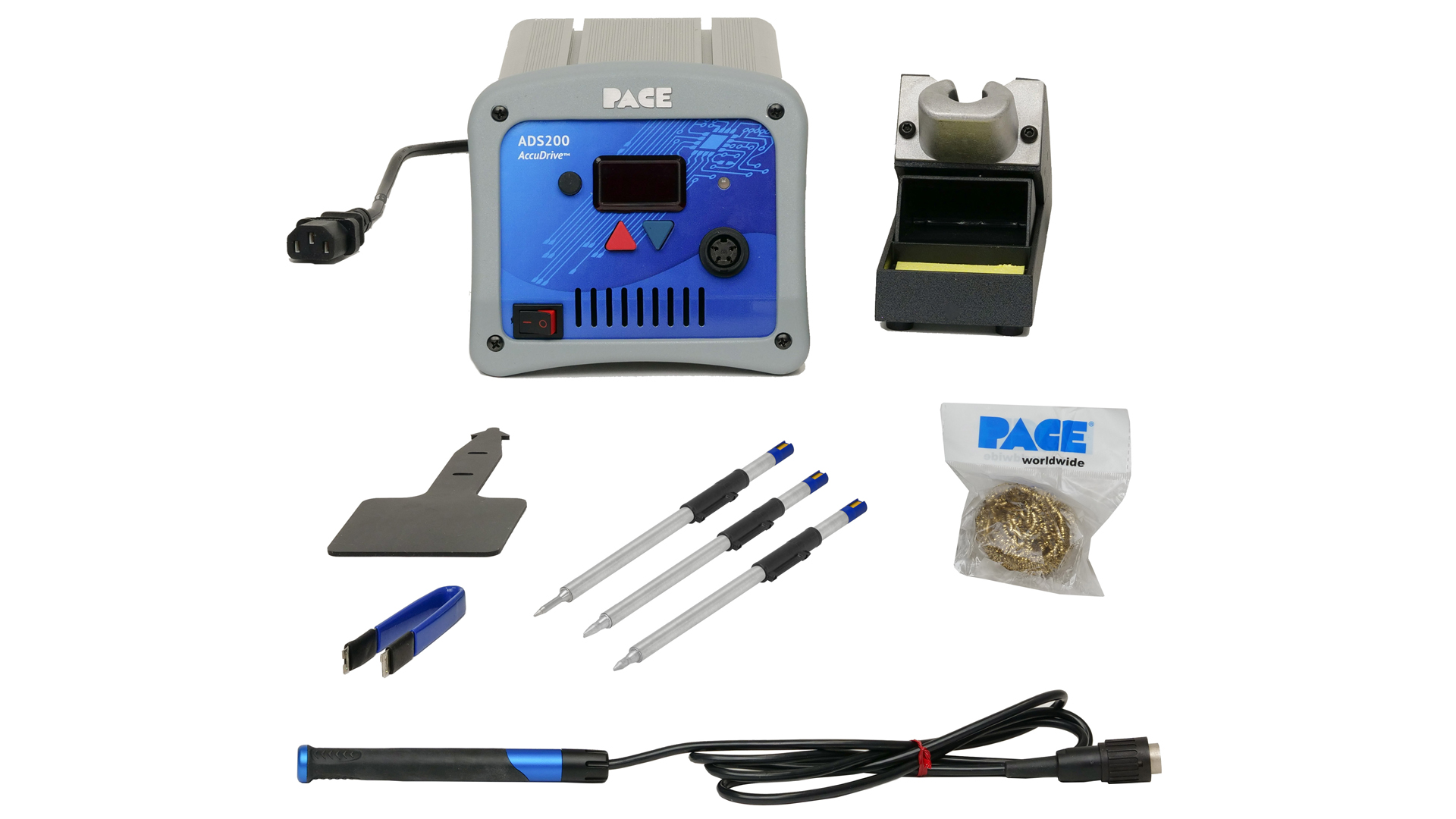 ADS200 AccuDrive® Soldering Station with TD-200 & 3 Tip Bundle